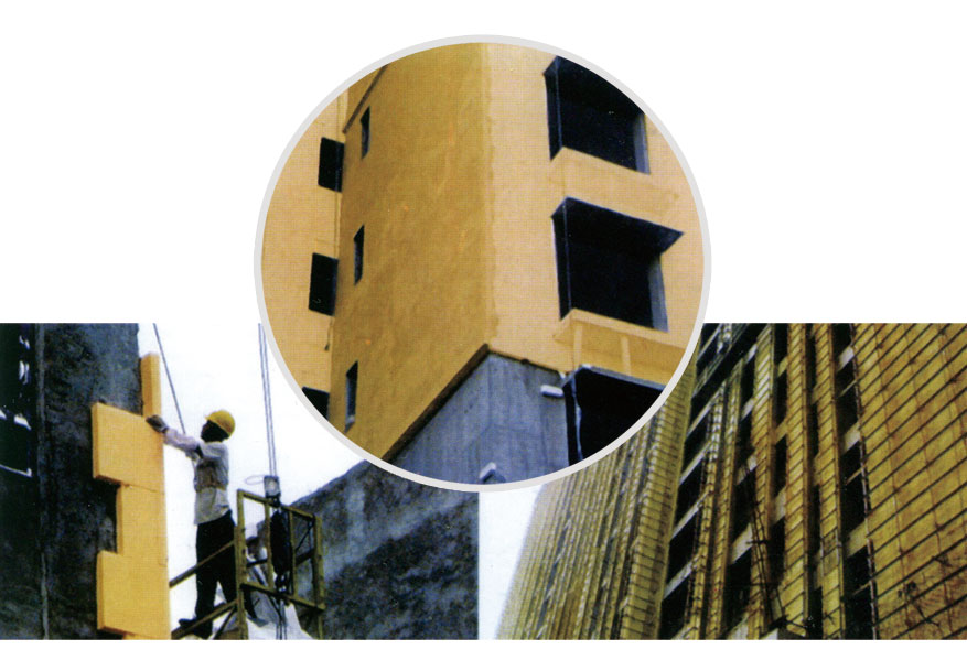 岩棉保温板外墙保温系统