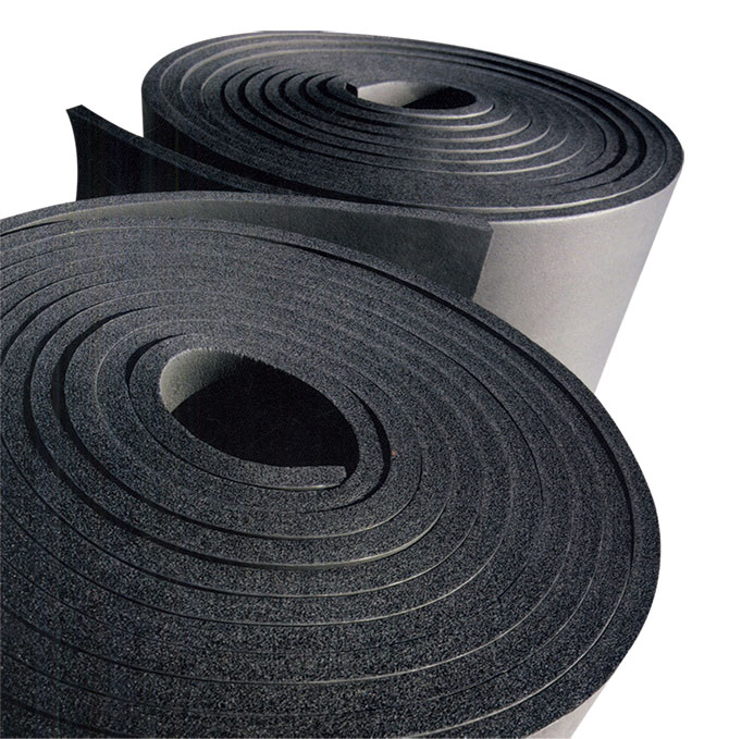 橡塑发泡(PVC/NBR)保温材料